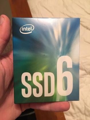 Ổ cứng SSD M2-PCIe 256GB Intel 600p NVMe 2280 13
