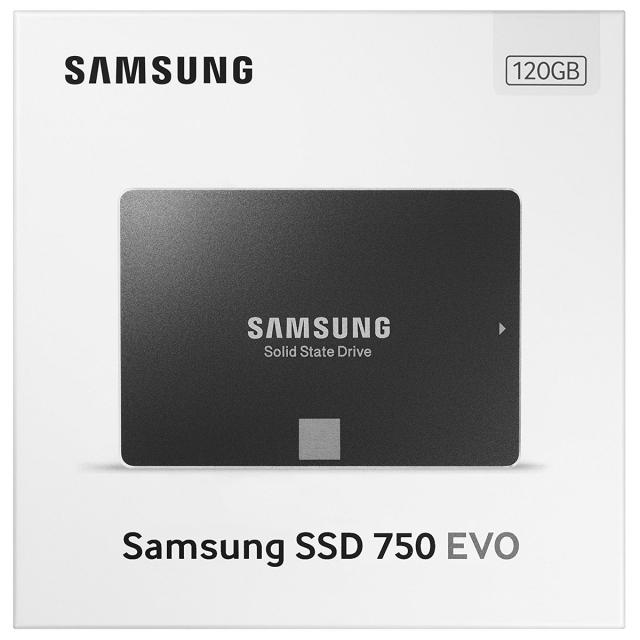 Ổ cứng SSD 120GB Samsung 750 EVO 2.5-Inch SATA III 8