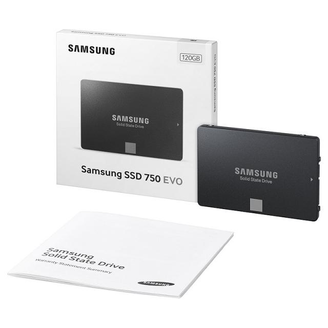 Ổ cứng SSD 120GB Samsung 750 EVO 2.5-Inch SATA III 9