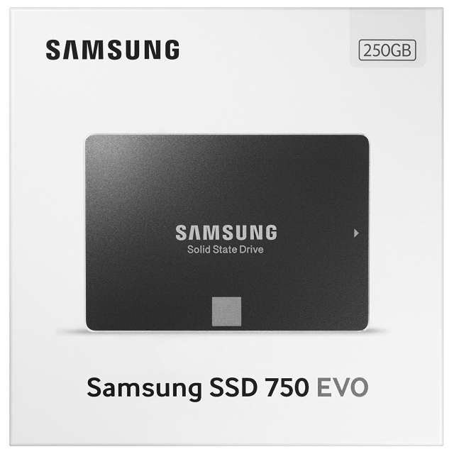 Ổ cứng SSD 250GB Samsung 750 EVO 2.5-Inch SATA III 7