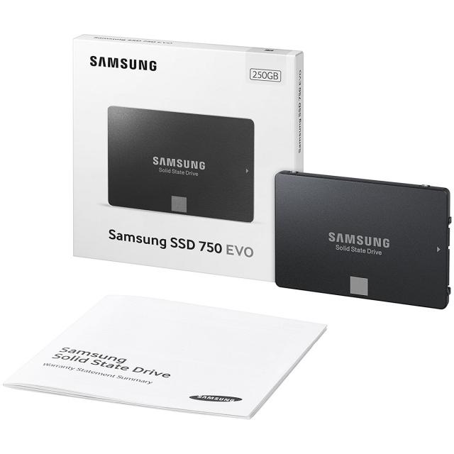 Ổ cứng SSD 250GB Samsung 750 EVO 2.5-Inch SATA III 9
