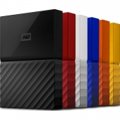 Ổ cứng di động HDD Portable 2TB Western Digital My Passport 2017