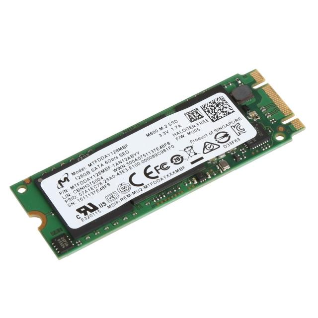 Ổ cứng SSD M2-SATA 128GB Micron M600 2280 3
