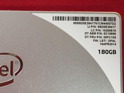 Ổ cứng SSD 180GB Intel Pro 1500 2.5-Inch SATA III (SSDSC2BF180A4) 8