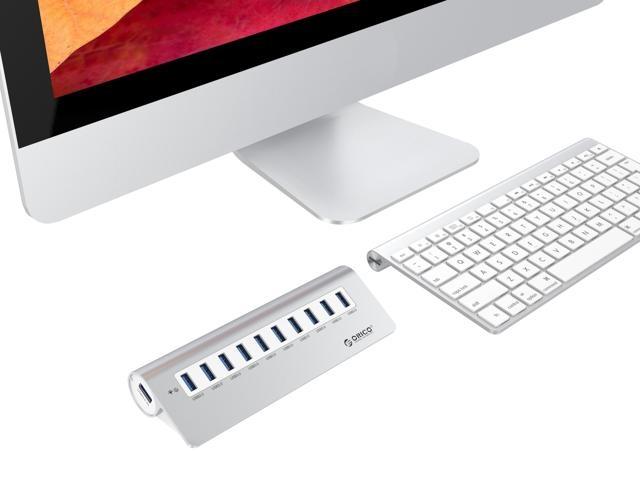 Bộ chia 10 cổng USB 3.0 Orico M3H10 vỏ nhôm - Hub USB Orico Aluminum 24