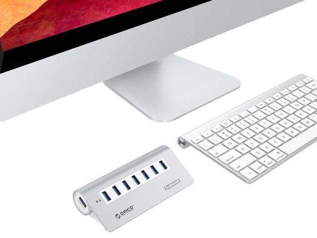 Bộ chia 7 cổng USB 3.0 Orico M3H7 vỏ nhôm - Hub USB Orico Aluminum 19
