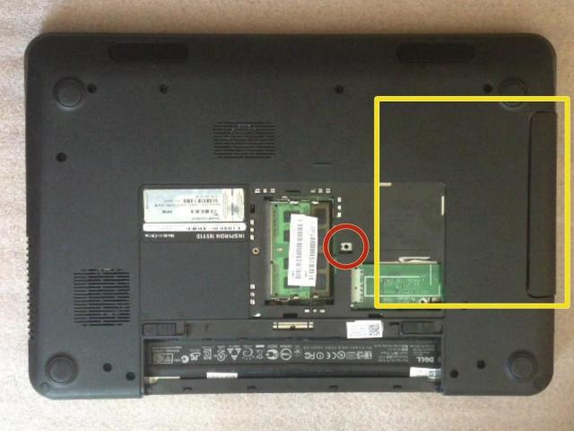 Nâng cấp ổ cứng SSD và RAM cho laptop Dell Inspiron N5110 5