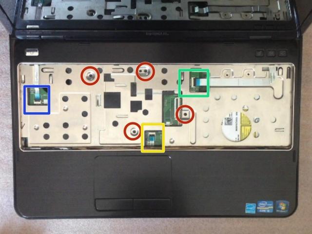Nâng cấp ổ cứng SSD và RAM cho laptop Dell Inspiron N5110 7