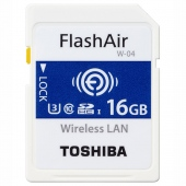 Thẻ nhớ 16gb Wifi SDHC FlashAir W-04