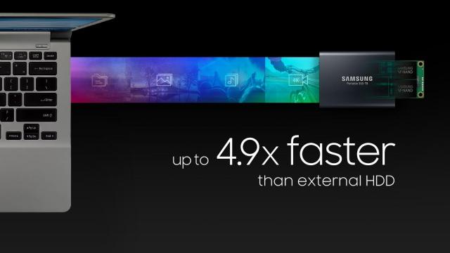 Ổ cứng di động SSD Portable 250 Samsung T5 14