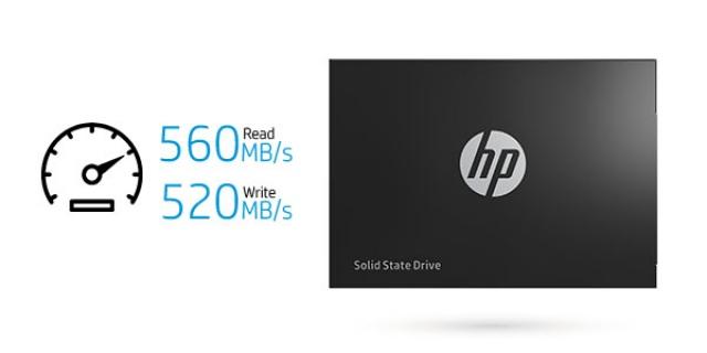 Ổ cứng SSD 120GB HP M700 2.5-Inch SATA III 9