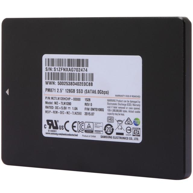 Ổ cứng SSD 128GB Samsung PM871b 2.5-Inch SATA III 2