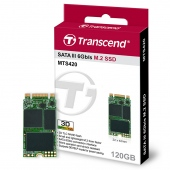 Ổ cứng SSD M2-SATA 120GB Transcend MTS420S 2242