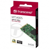 Ổ cứng SSD M2-SATA 64GB Transcend MTS400S 2242