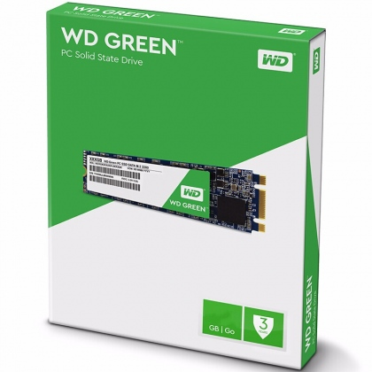 Ổ cứng SSD M2-SATA 120GB Western Digital WD Green 2280 - Tuanphong.vn
