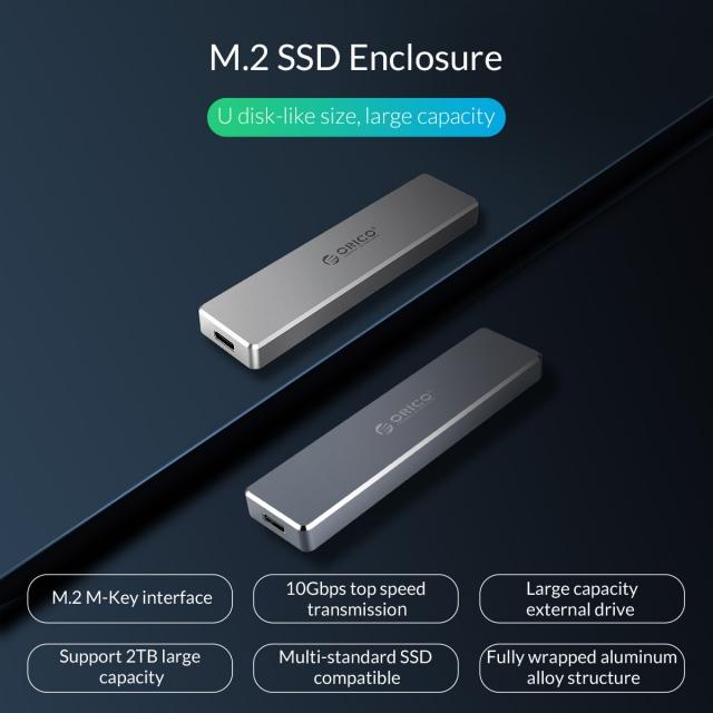 Box chuyển M.2 PCie sang USB 3.1 ORICO PVM2-C3 - Biến SSD M.2 NVMe thành ổ cứng di động 6