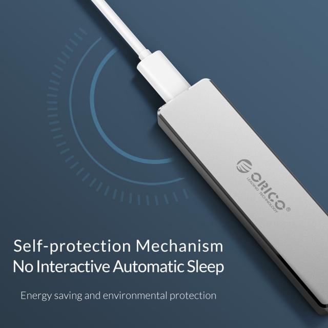 Box chuyển M.2 PCie sang USB 3.1 ORICO PVM2-C3 - Biến SSD M.2 NVMe thành ổ cứng di động 8