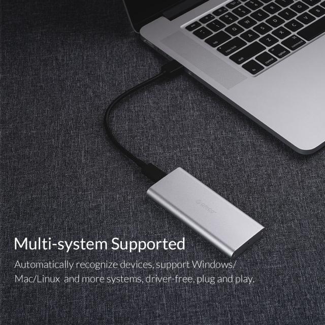 Box chuyển M2 Sata sang USB 3.0 ORICO M2G-U3 - Biến SSD M.2 thành ổ cứng di động 12