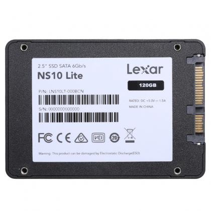 Ổ Cứng SSD Lexar NS10 120GB 2.5 inch SATA III