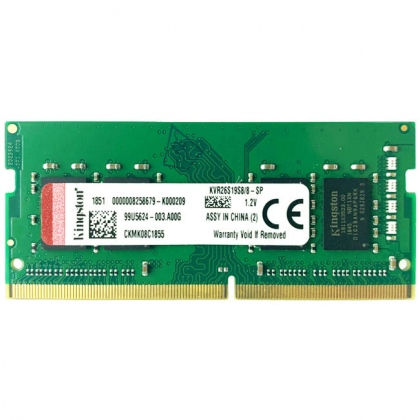 RAM DDR4 Laptop 8GB Kingston 2666Mhz