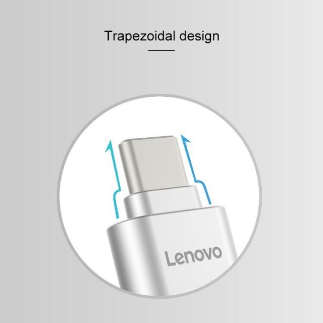Đầu chuyển thẻ nhớ MicroSD sang USB Type C Lenovo D201 (MicroSD to USB OTG Type-C) 8