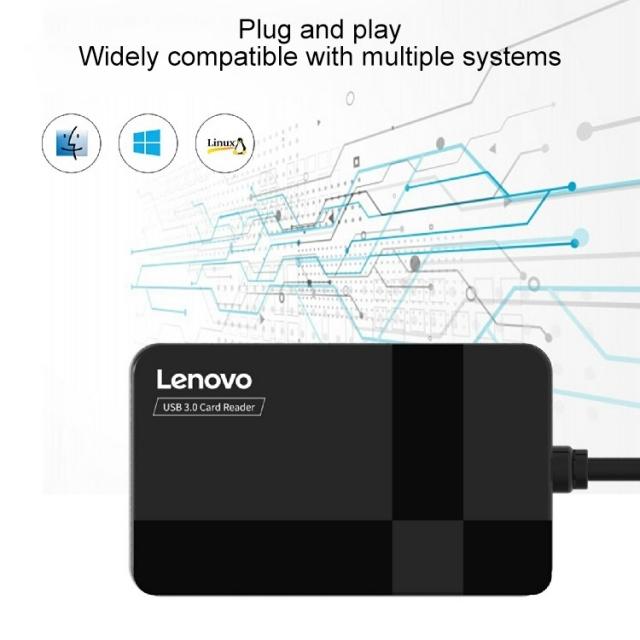 Đầu đọc thẻ đa năng Lenovo D303 - Card Reader Lenovo D303 4
