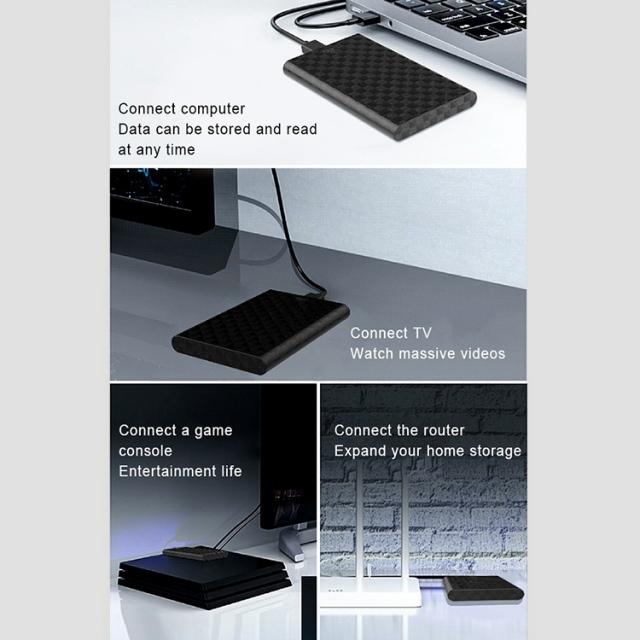 Box Lenovo S-02 USB 3.0 - Biến HDD/SSD 2.5-Inch thành ổ cứng di động 8