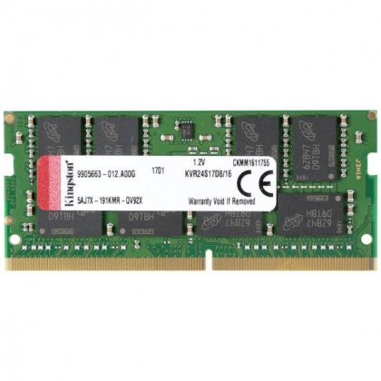 RAM DDR4 Laptop 16GB Kingston 2400MHz