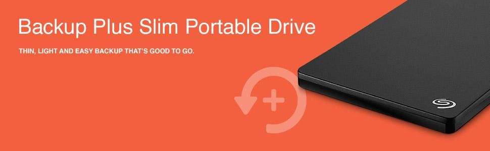 Ổ cứng di động HDD Portable Seagate Backup Plus Slim