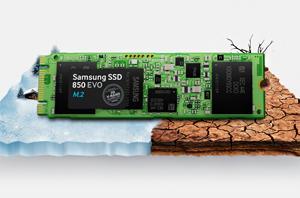 M2-SATA Samsung 850 EVO - Chống sốc, chống nhiệt