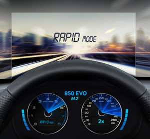 M2-SATA Samsung 850 EVO - Chế độ RAPID