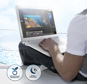 M2-SATA Samsung 850 EVO - Giảm tiêu thụ điện năng