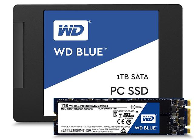 Ổ cứng SSD Western Digital WD Blue - Giới thiệu
