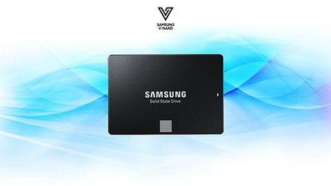 SSD Samsung 860 EVO 64 Layer 3d v-nand technology