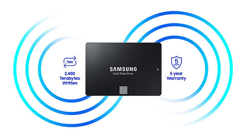 SSD Samsung 860 EVO 5 Year Warranty