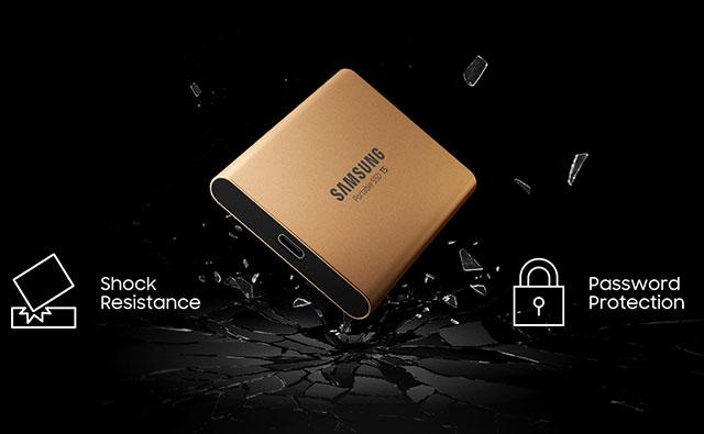 Ổ cứng di động SSD Portable 250 Samsung T5 17