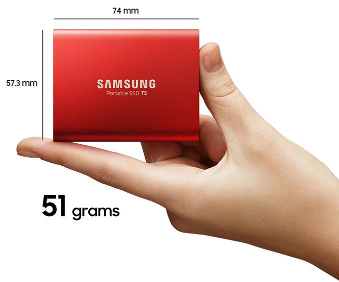 Ổ cứng di động SSD Portable 250 Samsung T5 18