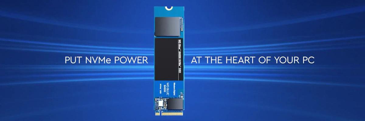 Ổ cứng SSD M2-PCIe 250GB WD Blue SN550 NVMe 2280 WDS250G2B0C